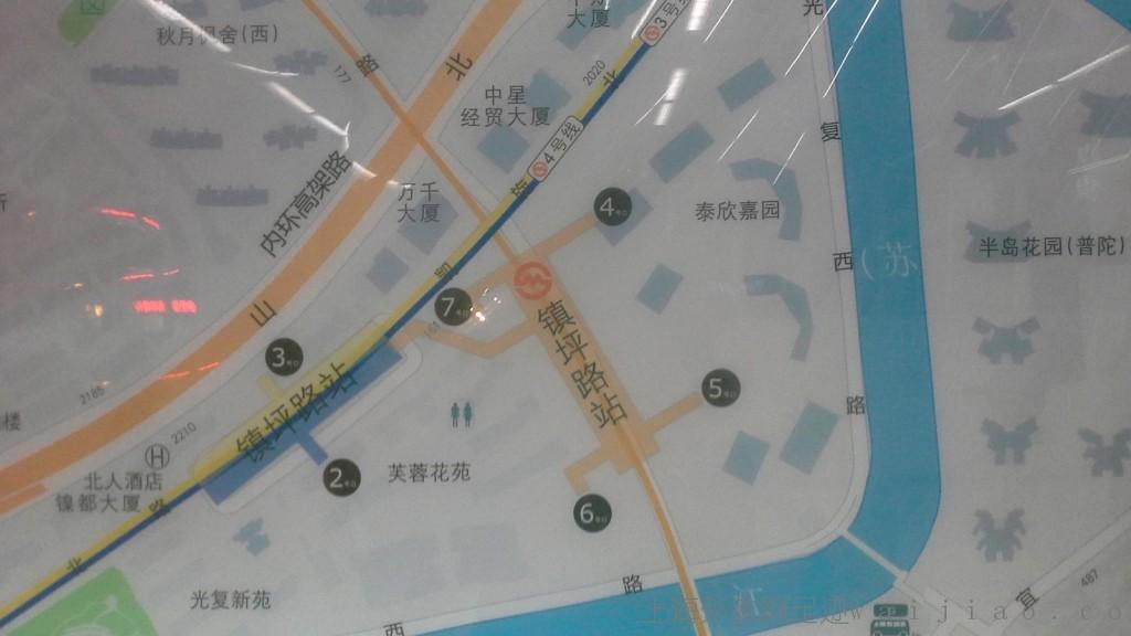 Zhenping-Road-Station